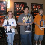 2004 Kids Winners1st Eric Sanchez (Center) 2nd Nikki Fahrenthold (Left) 3rd Kevin Beardsley (Right)