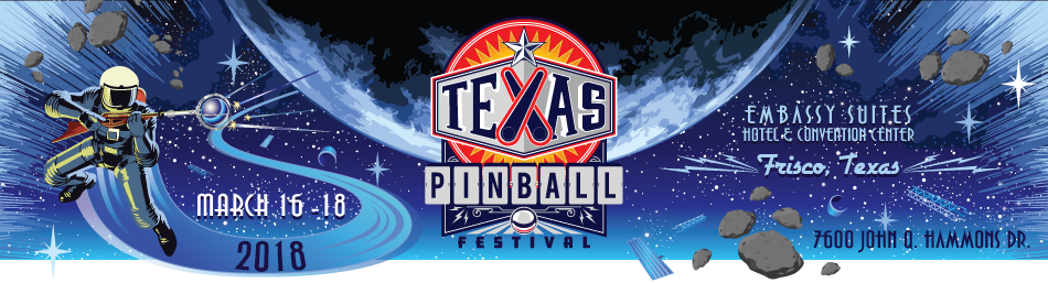 Image result for Texas Pinball Festival at Embassy Suites Frisco